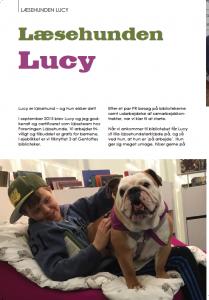 Lucy i Bulldogbladet 1