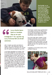 Lucy i Bulldogbladet 2